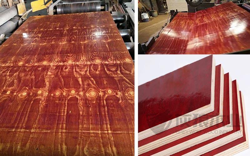 建筑木模板生产实拍