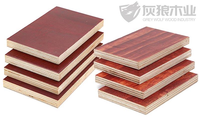 松木模板和桉木模板